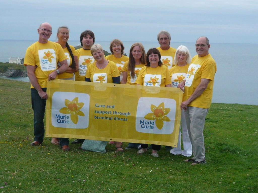 Photo of the Newquay Fundraising Group